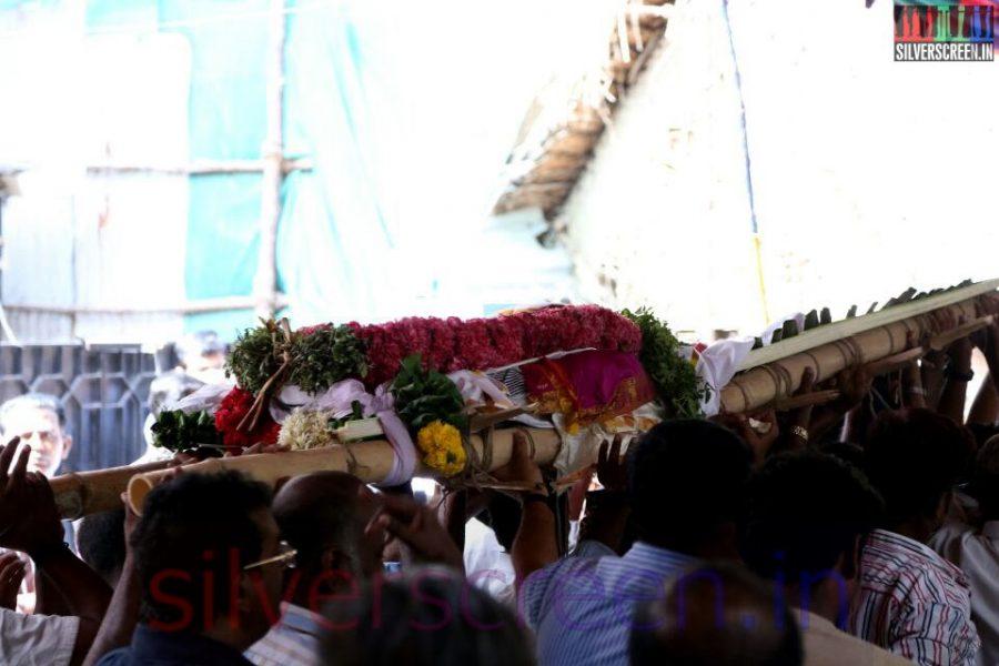 Director Ramanarayanan's Funeral