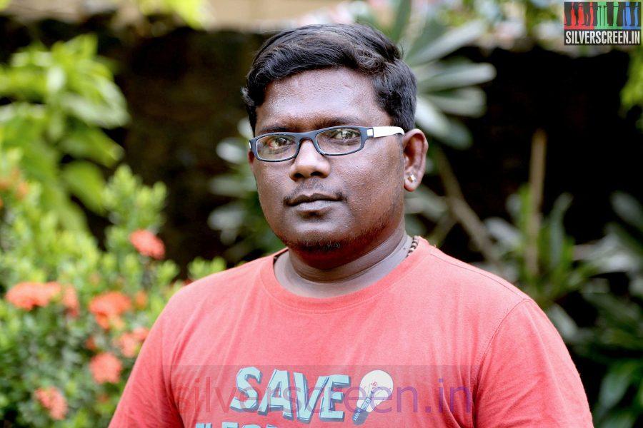 Lyricist GKB at the Sarabham Press Meet