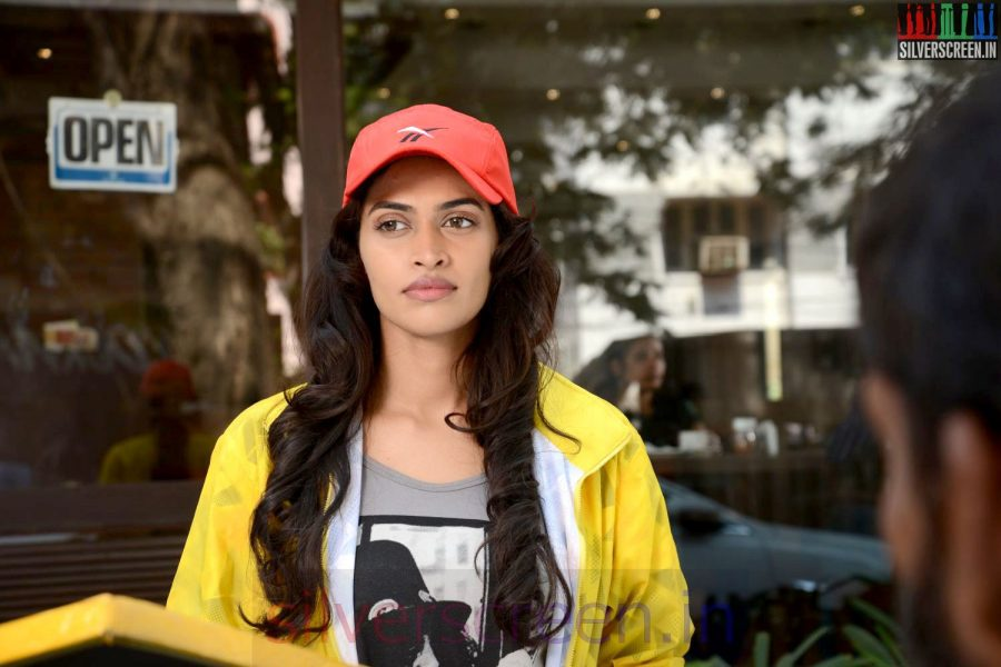 Actress Salony Luthra in Sarabham Movie Stills