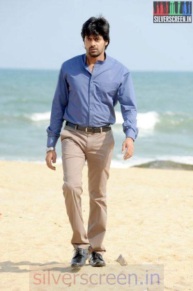 Actor Naveen Chandra in Sarabham Movie Stills