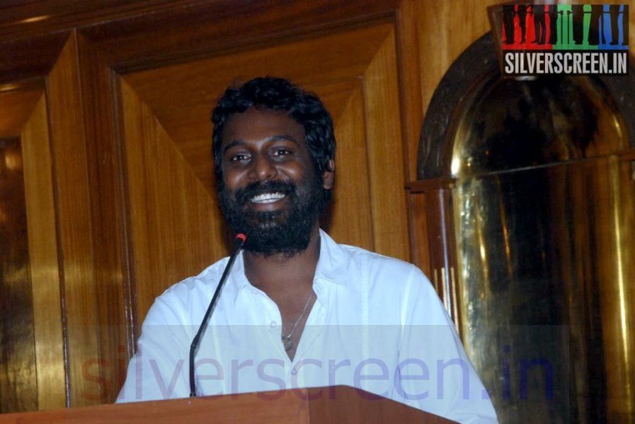 Actor Vijay Vasanth at Sigandi (Or Sikandi) Press Meet
