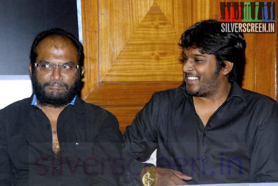 Director P Rajapandi and Producer V Vinoth Kumar at Sigandi (Or Sikandi) Press Meet