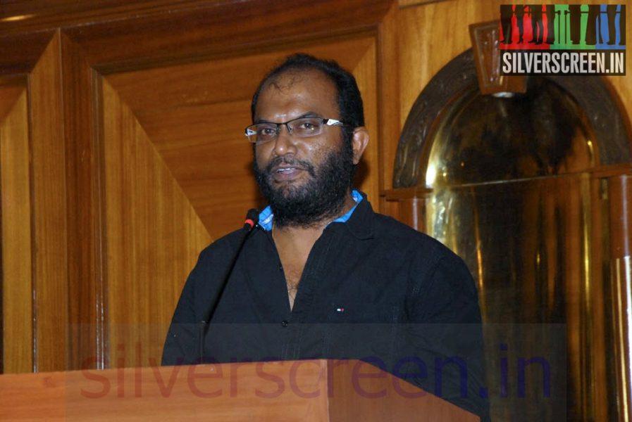 Director P Rajapandi at Sigandi (Or Sikandi) Press Meet