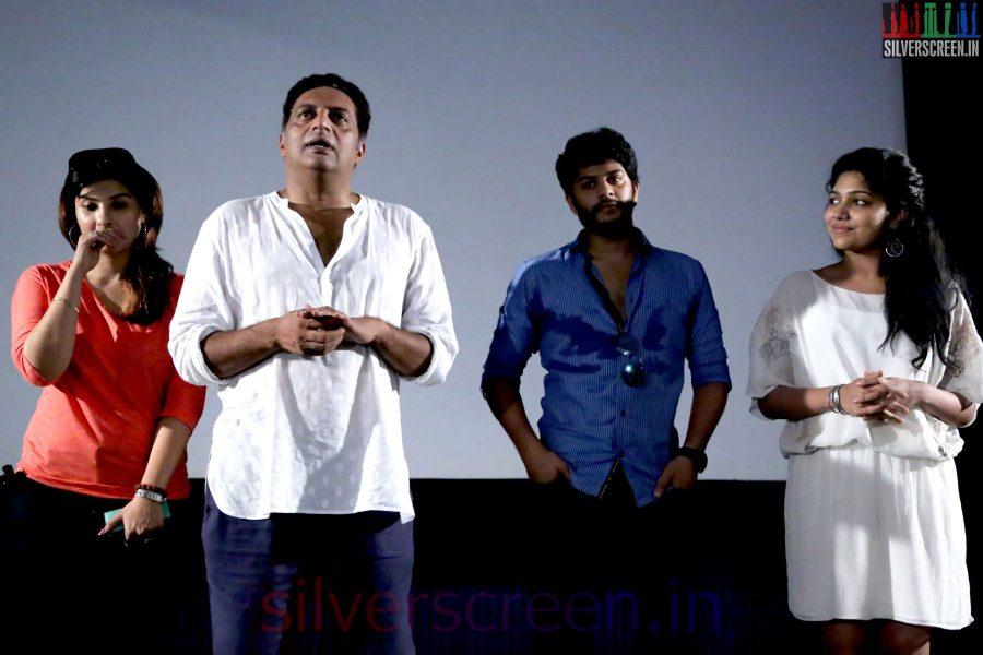 Actor Prakash Raj, Pony Verma, Tejas, Samyuktha Hornad at the Un Samayal Arayil Press Meet