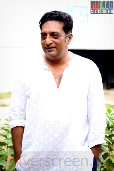 Actor Prakash Raj at the Un Samayal Arayil Press Meet