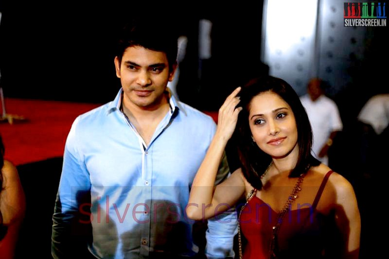 Actor Sethu and Actress Nushrat Bharucha at Valeba Raja (Or Vaaliba Raja) Audio Launch