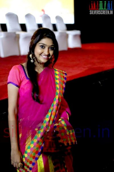 Actress Neelima Esai at Valeba Raja (Or Vaaliba Raja) Audio Launch