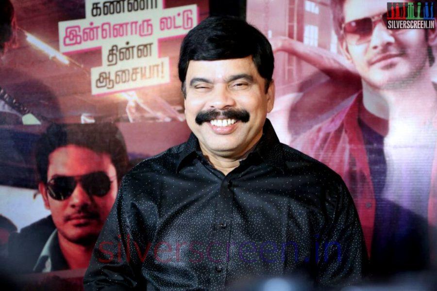 Actor Powerstar Srinivasan at Valeba Raja (Or Vaaliba Raja) Audio Launch