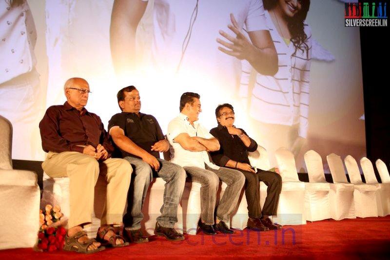 Director KV Anand, Actor Kamal Hassan at Valeba Raja (Or Vaaliba Raja) Audio Launch