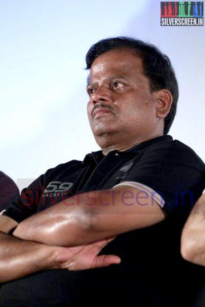 Director KV Anand at Valeba Raja (Or Vaaliba Raja) Audio Launch