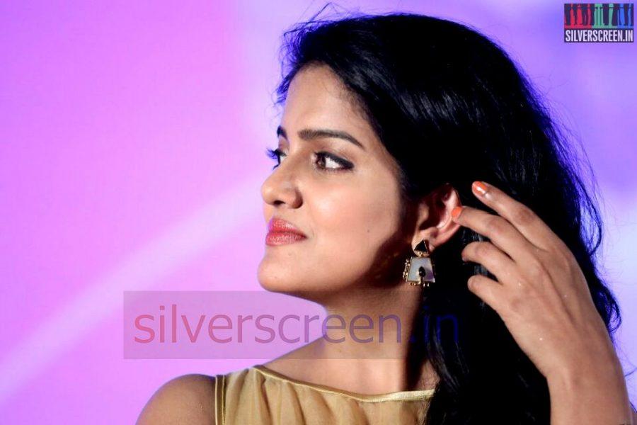Actress Vishakha Singh at Valeba Raja (Or Vaaliba Raja) Audio Launch