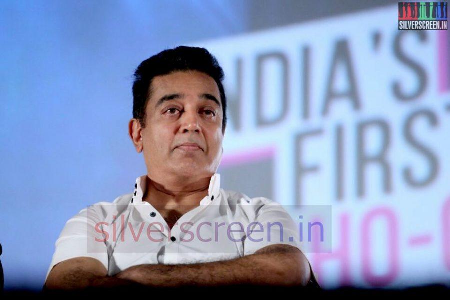 Actor Kamal Haasan at Valeba Raja (Or Vaaliba Raja) Audio Launch