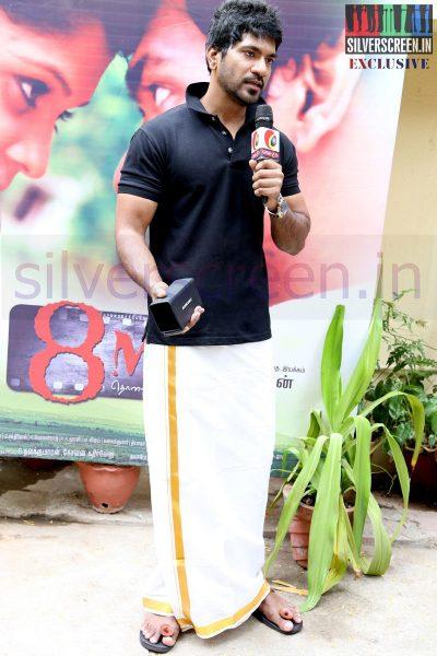 Actor Nirmal at 8MM Press Meet Event