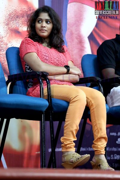 Actress Divya at 8MM Press Meet Event