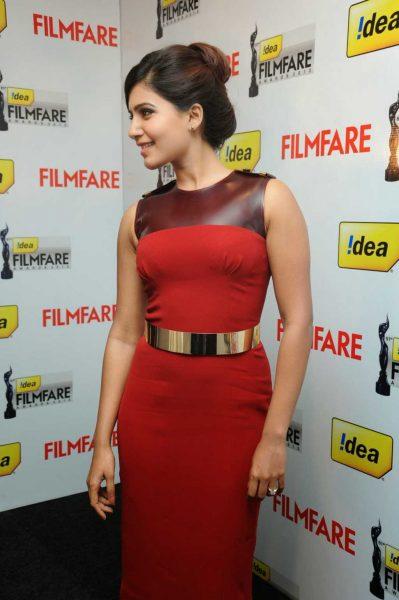 Samantha  At-61st-Idea-FilmfareAwards-2013-Press-Meet