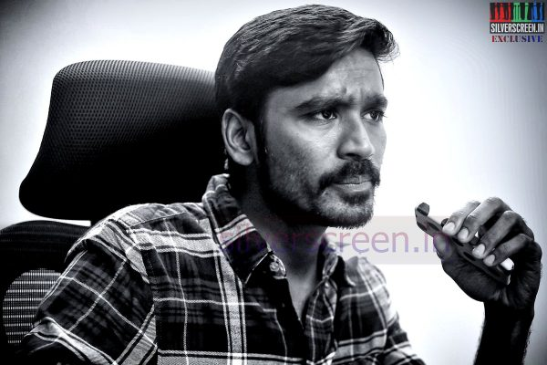 Actor Dhanush - Photos from the Silverscreen.in exclusive interview