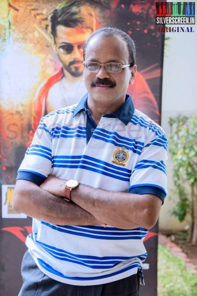 Producer G Dhananjayan at Anjaan Race Wars Game Launch Stills