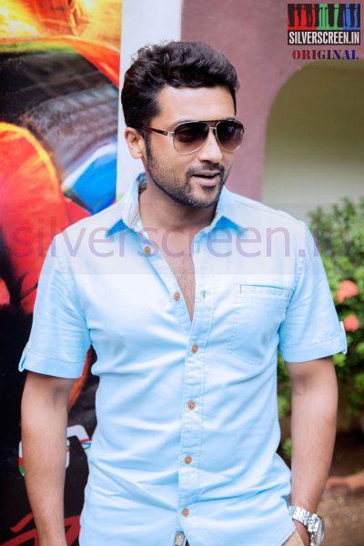 Actor Suriya at Anjaan Race Wars Game Launch Stills