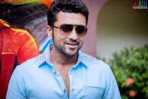 Actor Suriya at Anjaan Race Wars Game Launch Stills