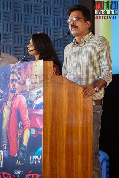 Screenplay Writer Brinda Sarathy at Anjaan Race Wars Game Launch Stills