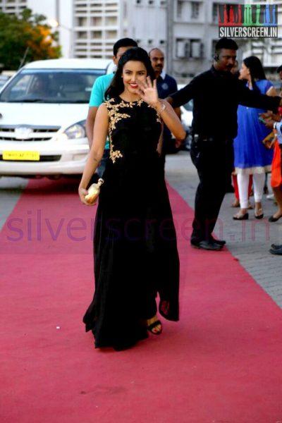 Actress Priya Anand at the Arima Nambi Movie Premiere