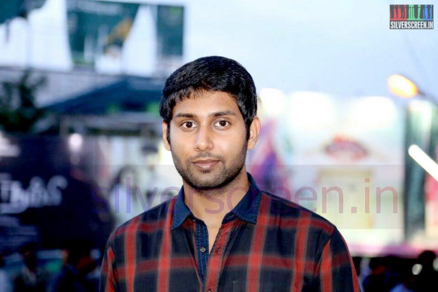 Actor Aadhav Kannadhasan at the Arima Nambi Movie Premiere