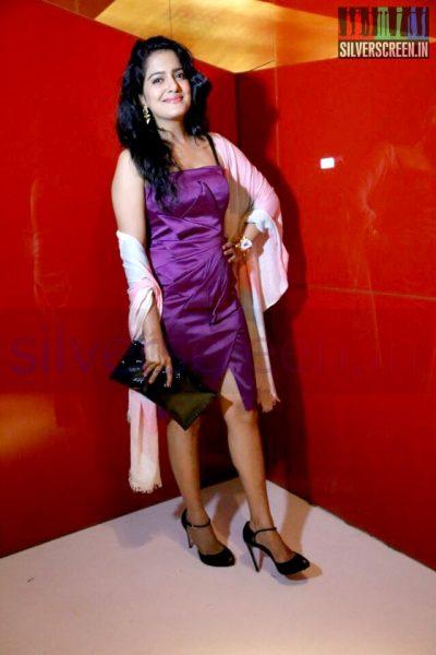 Actress Vishakha Singh at the Arima Nambi Movie Premiere
