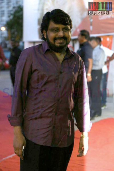 Vikraman (Director) at the Arima Nambi Movie Premiere