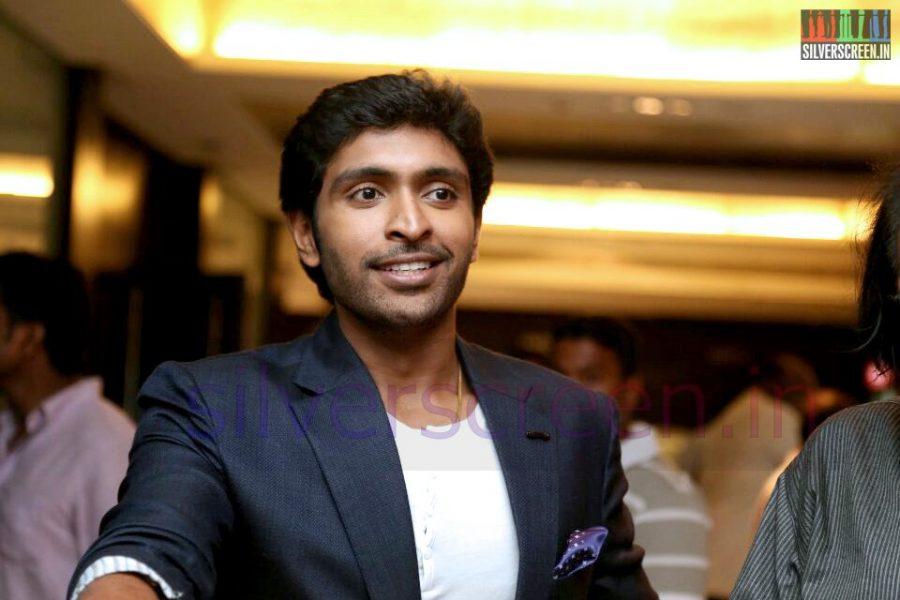 Actor Vikram Prabhu at the Arima Nambi Movie Premiere
