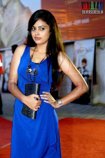 Actress Nandita at the Arima Nambi Movie Premiere