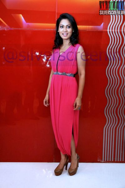 Pooja Umashankar at the kadavul-paathi-mirugam-paathi-audio-launch-event