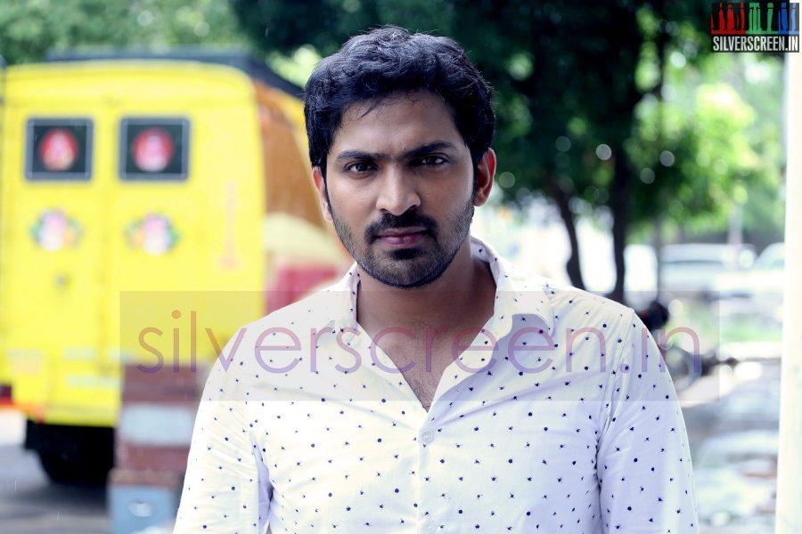 Actor Vaibhav at Kappal Shooting Spot