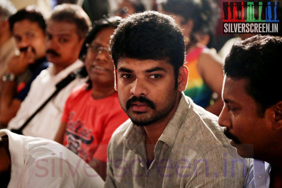 Actor Vimal (Or Vemal) at Maindhan (Or Mainthan) Movie Audio Launch