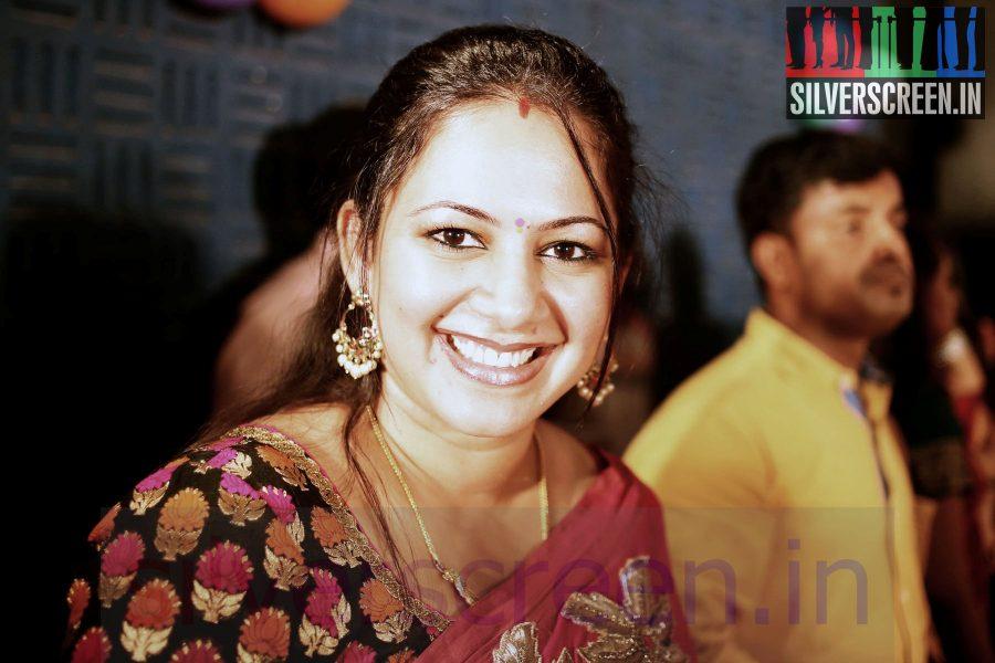Anchor Archana at Maindhan (Or Mainthan) Movie Audio Launch