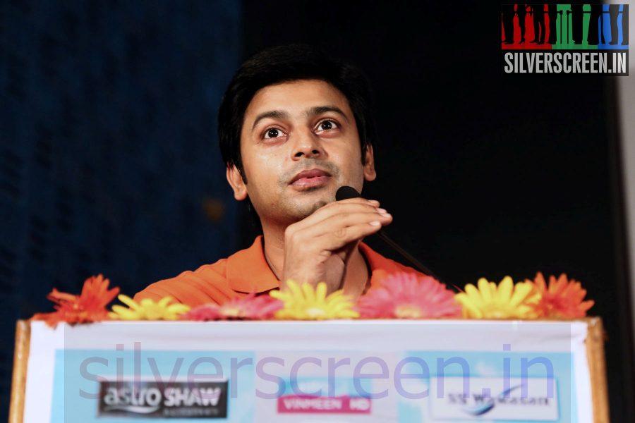 Actor Srikanth at Maindhan (Or Mainthan) Movie Audio Launch