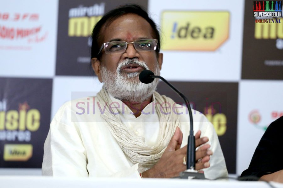 Music Director Gangai Amaren at Mirchi Music Awards 2013 - Grand Jury Meet Event