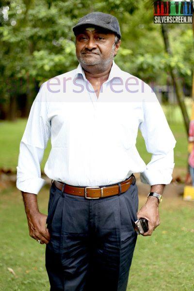 Actor MS Bhaskar at Nee Yellam Nalla Varuvada Press Meet