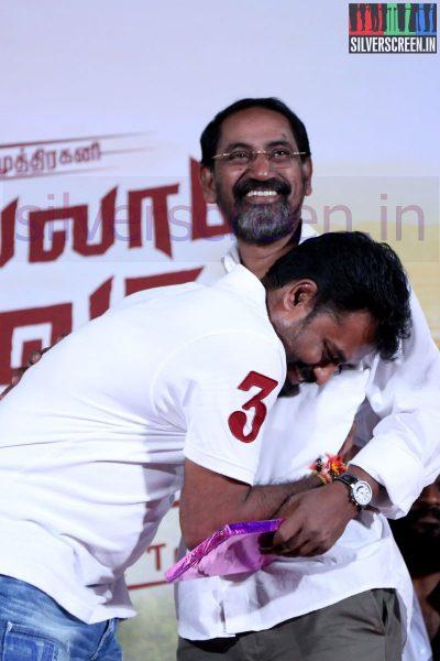 Director R Nagendran and SP Jananathan at Nee Yellam Nalla Varuvada Press Meet