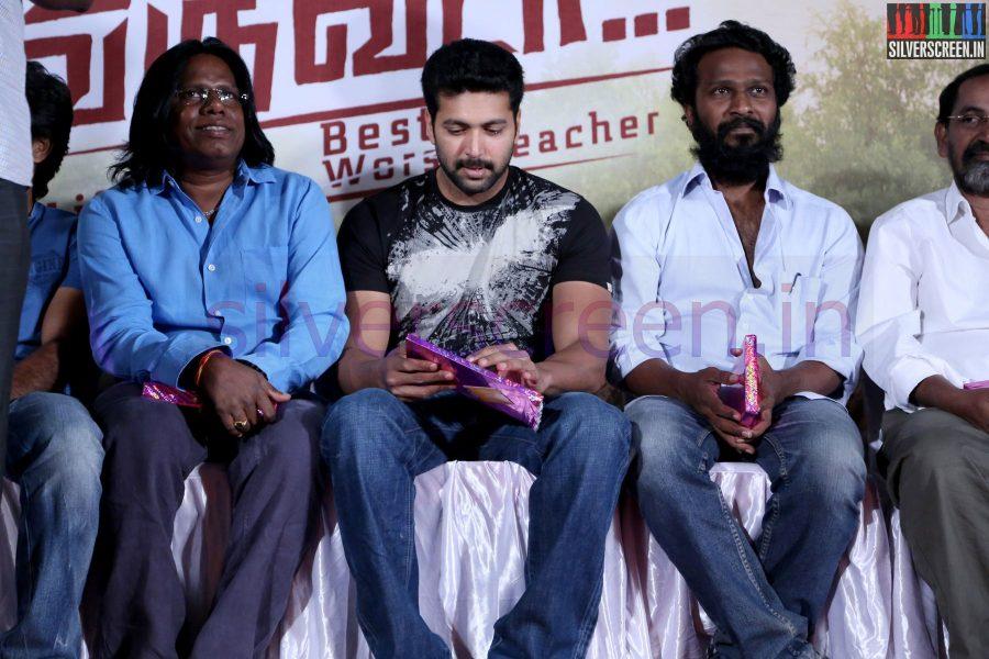 Actor Jayam Ravi and Director Vetrimaaran at Nee Yellam Nalla Varuvada Press Meet