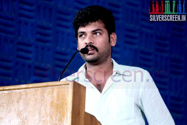 Actor Vimal (Or Vemal) at Nee Yellam Nalla Varuvada Press Meet