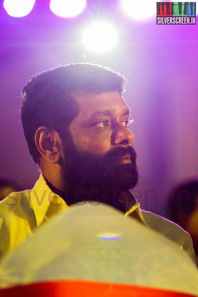 Director Vasanth at the Puthiyathalaimurai (Puthiya Thalaimurai) Tamizhan Awards 2014