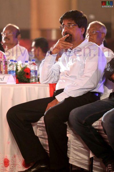 Cricket Player Krishnamachari Srikanth at the Puthiyathalaimurai Tamizhan Awards