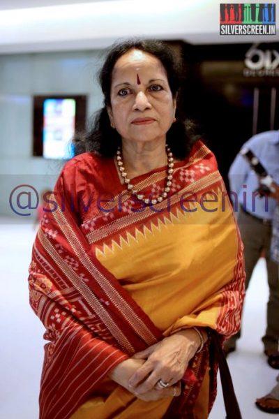 Singer Vani Jairam at Ramanujan Movie Premiere