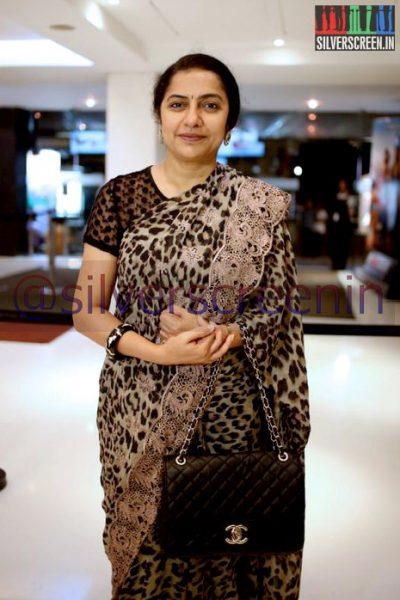 Actress Suhasini Mani Ratnam at Ramanujan Movie Premiere