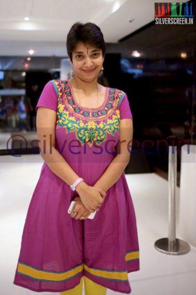 Maduvanthi Arun at Ramanujan Movie Premiere