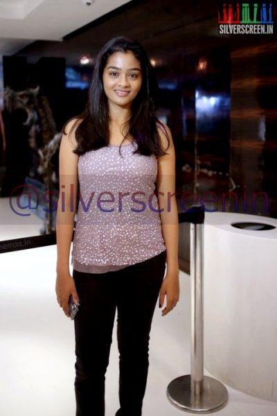 Actress Gayathrie at Ramanujan Movie Premiere