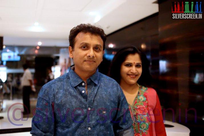 Singer Unni Krishnan at Ramanujan Movie Premiere