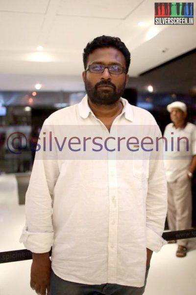 Director Ram at Ramanujan Movie Premiere