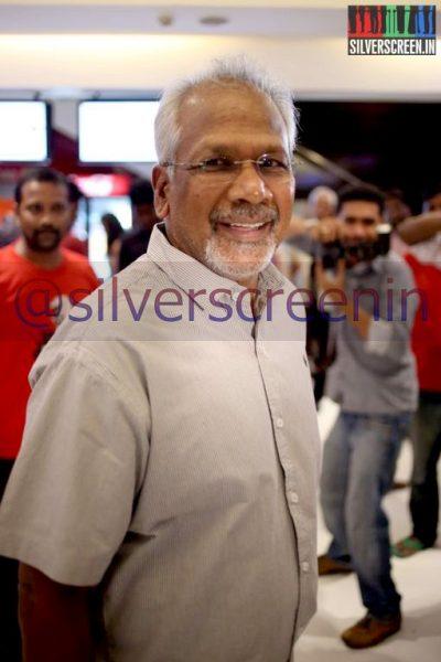 Director Mani Ratnam at Ramanujan Movie Premiere