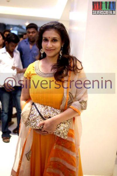 Actress Lissy Priyadarshan at Ramanujan Movie Premiere
